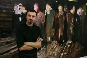 Adrian Ghenie 300x201 Pictorul Adrian Ghenie a vandut recent, la Londra, un tablou cu peste 140.000 de euro