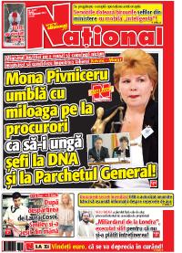 Pag 1 mic11 Rasfoieste editia tiparita a ziarului NATIONAL