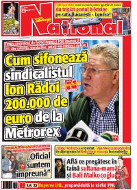 Pag 1 mic14 Rasfoieste editia tiparita a ziarului NATIONAL