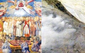 """Copy of painting giotto 300x187 Lumea credea ca a scapat de """"anii satanici"""", dar s a inselat! Descoperire cutremuratoare in Basilica Sf.Francisc de Assisi, patronul noului Papa!"""