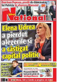 Pag 1 mic17 Rasfoieste editia tiparita a ziarului NATIONAL
