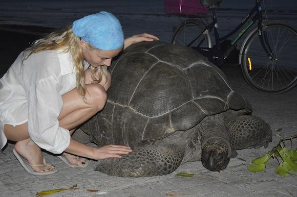 laura5 Laura Cosoi si iubitul ei, imagini spectaculoase din Paradis! (FOTO)