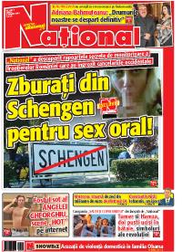 pag 1 mic1 Rasfoieste editia tiparita a ziarului NATIONAL