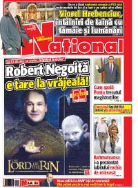 pag01mic Rasfoieste editia tiparita a ziarului NATIONAL