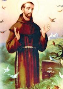 """sf francisc 214x300 Lumea credea ca a scapat de """"anii satanici"""", dar s a inselat! Descoperire cutremuratoare in Basilica Sf.Francisc de Assisi, patronul noului Papa!"""