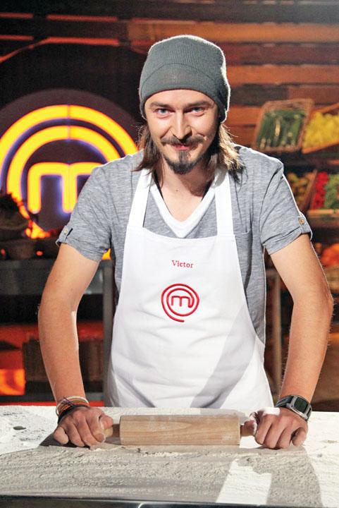 """Nemes Master1 Masterchef 2013: Victor Nemes si a iesit din minti: """"M am facut de ras!"""""""