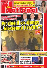 Pag 1 mic12 Rasfoieste editia tiparita a ziarului NATIONAL