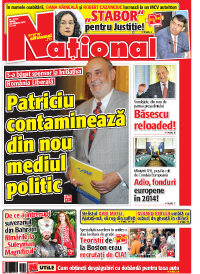 Pag 1 mic15 Rasfoieste editia tiparita a ziarului NATIONAL
