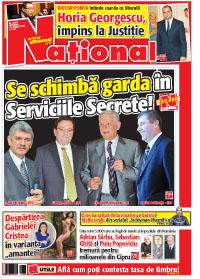 Pag 1 mic6 Rasfoieste editia tiparita a ziarului NATIONAL