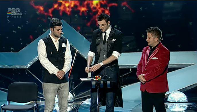 """magician3 Ei sunt primii trei finalisti de la """"Romanii au Talent 2013""""!"""