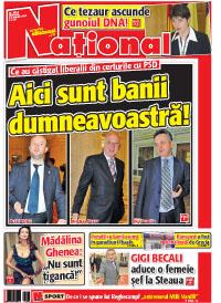 pag01mic1 Rasfoieste editia tiparita a ziarului NATIONAL