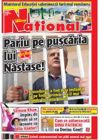 pag 01 mic6 Rasfoieste editia tiparita a ziarului NATIONAL