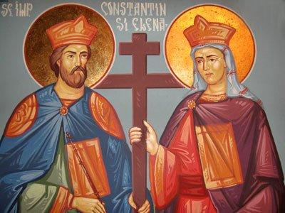sfintii constantin si elena Mare sarbatoare pentru ortodocsi: Sfintii Imparati Constantin si Elena
