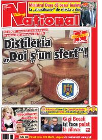 pag 01 mic16 Rasfoieste editia tiparita a ziarului NATIONAL