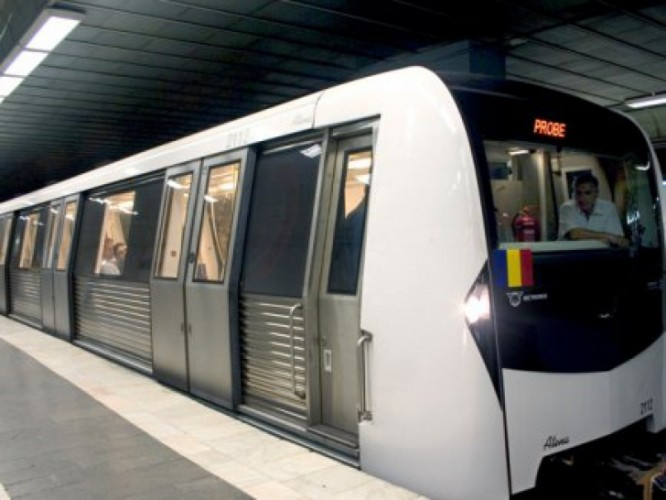 metrou2 666x500 Colet suspect intr un tren de metrou. Statia Berceni, evacuata
