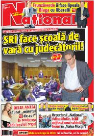 pag 01 mic18 Rasfoieste editia tiparita a ziarului NATIONAL