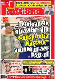 pag 01 mic23 Rasfoieste editia tiparita a ziarului NATIONAL