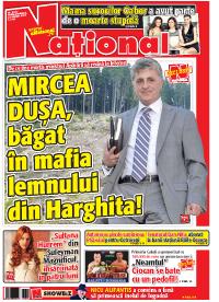 pag 01 mic17 Rasfoieste editia tiparita a ziarului NATIONAL