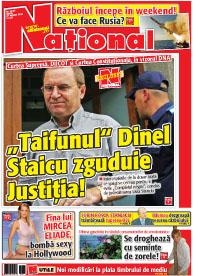 pag 01 mic19 Rasfoieste editia tiparita a ziarului NATIONAL