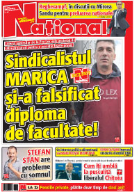 pag 01 mic10 Rasfoieste editia tiparita a ziarului NATIONAL