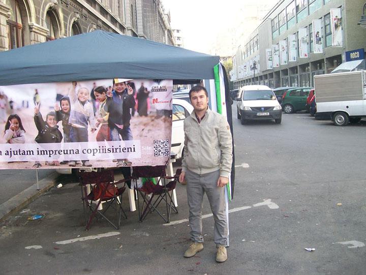 """Gabriel Cateliu Create Yourself Bucurestenii, implicati in campania """"Salvati copiii sirieni"""""""