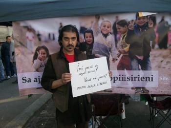 """actorul Mihai Raducu 350x262 Bucurestenii, implicati in campania """"Salvati copiii sirieni"""""""