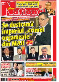 pag 01 mic21 Rasfoieste editia tiparita a ziarului NATIONAL