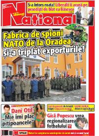 pag 01 mic20 Rasfoieste editia tiparita a ziarului NATIONAL