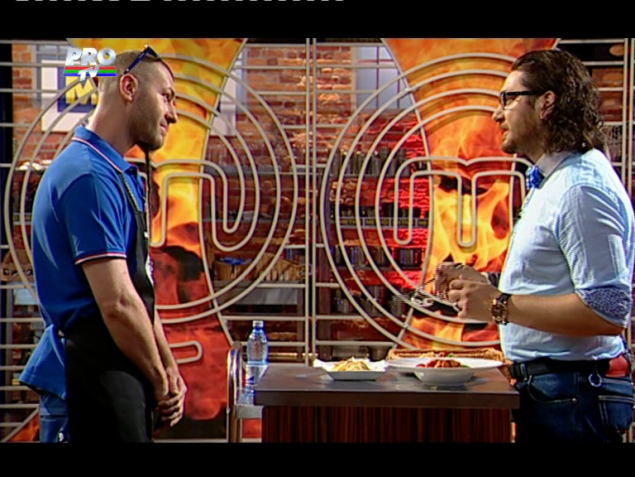 paste1 MasterChef: Pacha Man l a impresionat pe chef Florin Dumitrescu
