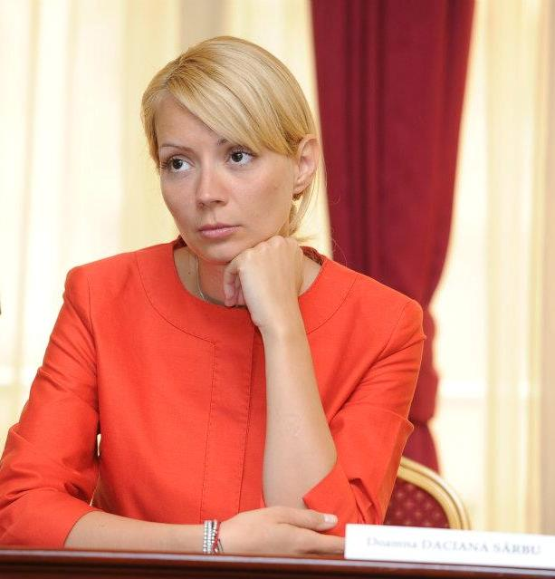 daciana sarbu Daciana Sarbu, sotia lui Victor Ponta, si a anuntat plecarea din PSD
