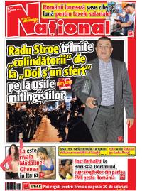 pag 01 mic9 Rasfoieste editia tiparita a ziarului NATIONAL