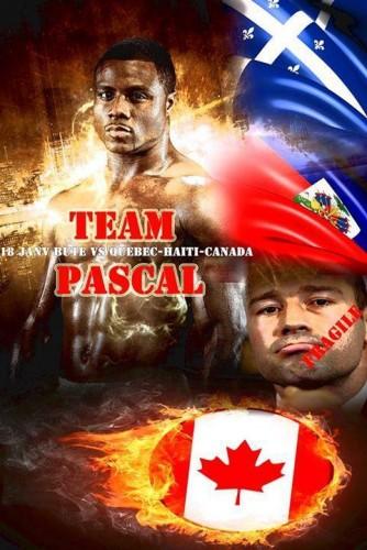 """Afis Pascal Bute 334x500 Jean Pascal s a proclamat singur """"adevaratul rege din Montreal"""""""