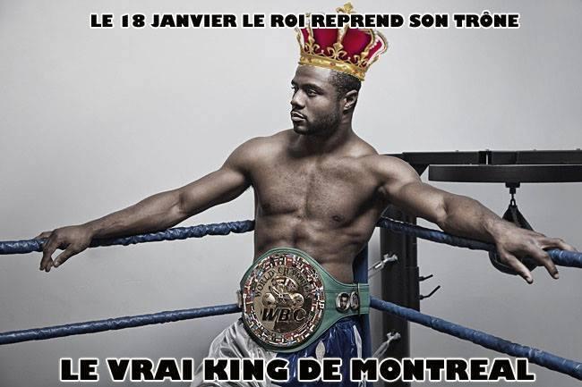 """Jean Pascal1 Jean Pascal s a proclamat singur """"adevaratul rege din Montreal"""""""