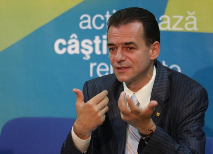 LUDOVIC ORBAN FANE 120 689x500 Decizie: alesii PNL nu voteaza la motiune. Orban: Nu ne amestecam in rafuiala din interiorul PSD