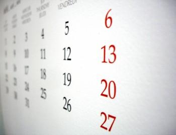calendar 350x268 Ministrul Muncii anunta clar ce zile NU vor fi libere de Sarbatori