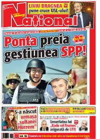 01 mic Rasfoieste editia tiparita a ziarului NATIONAL