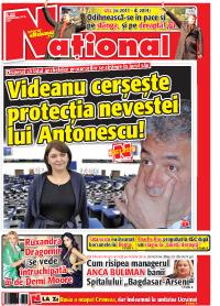 01 Rasfoieste editia tiparita a ziarului NATIONAL