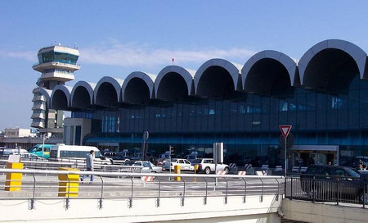 aeroport otopeni Avion iesit de pe pista, pe Otopeni