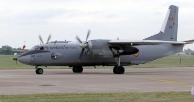 avion miltar Un avion militar american cu 15 oameni la bord a aterizat de urgenta la Constanta