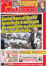 pag 01 mic15 Rasfoieste editia tiparita a ziarului NATIONAL