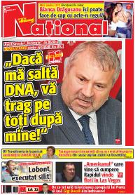 pag 01 mic3 Rasfoieste editia tiparita a ziarului NATIONAL
