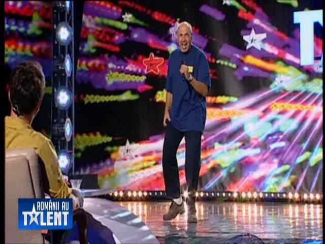 """sofer """"Romanii au talent""""/ A venit la emisiune pentru a le demonstra copiilor ca poate deveni CINEVA! (VIDEO)"""