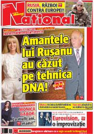 pag 01 mic Rasfoieste editia tiparita a ziarului NATIONAL