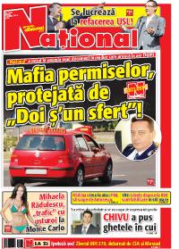 pag 01 mic24 Rasfoieste editia tiparita a ziarului NATIONAL