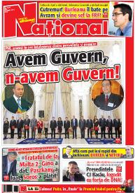 pag 01 mic4 Rasfoieste editia tiparita a ziarului NATIONAL