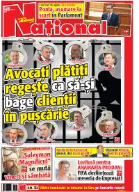 pag 01 mic8 Rasfoieste editia tiparita a ziarului NATIONAL