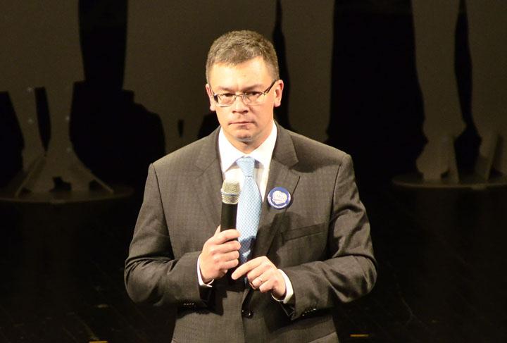 Mihai Razvan Ungureanu ARD lansare candidti Narcis Pop 30 M.R. Ungureanu, votat a doua oara sef al SIE. A depus deja juramantul in Parlament