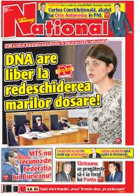 pag 01mic1 Rasfoieste editia tiparita a ziarului NATIONAL