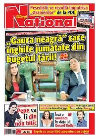 01 page 001 Rasfoieste editia tiparita a ziarului NATIONAL
