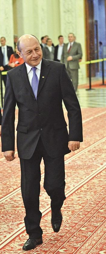 Traian Basescu Discurs Parlament Narcis Pop 15 Traian Basescu, din nou in vizita la sediul PMP din Capitala